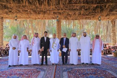 السفير المغربي والموريتاني لدى المملكة يزوران البكيرية