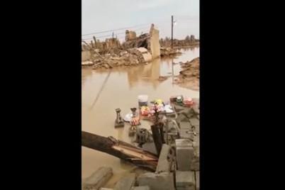 بالفيديو.. سيول الأفلاج تجرف 3 آلاف قطعة أثرية في البديع