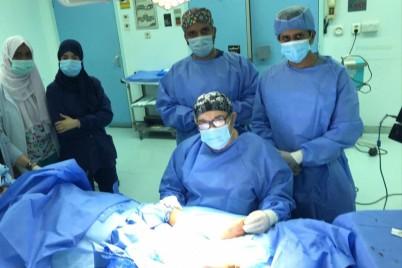 تدخل طبي ينقذ قدم طفلة من البتر بمستشفى الملك عبدالعزيز بجدة