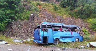 مصرع 28 شخصا وإصابة 15 آخرين فى نيبال إثر تحطم حافلة غربى البلاد