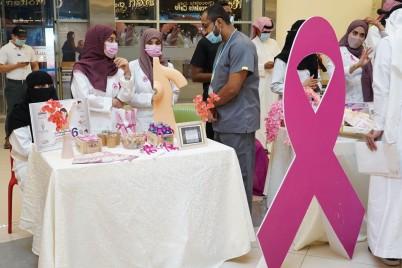 تجمع الأحساء الصحي يطلق فعالياته التوعوية عن سرطان الثدي