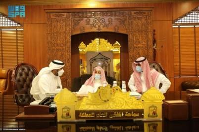 مفتي عام المملكة يشيد بإطلاق هيئة الإذاعة والتلفزيون المركز السعودي للتلاوات القرآنية والأحاديث النبوية